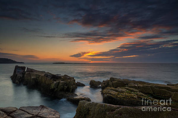 Michael Photograph - Rocky Coast Of Maine by Michael Ver Sprill
