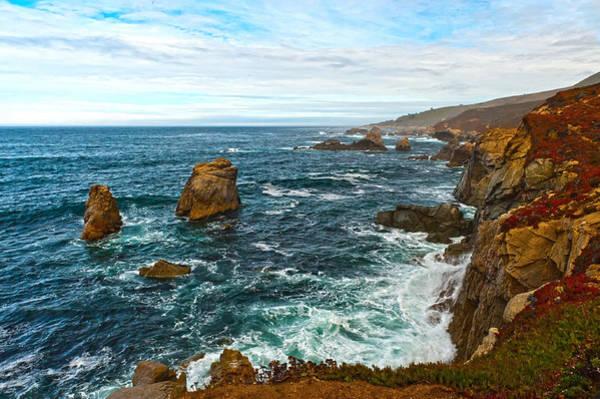 Photograph - Rocky Coast by Paul Johnson