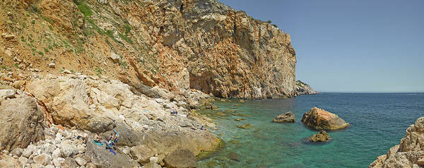 Suggestion Photograph - Rocky Cove In Lestartit, Costa Brava by Panoramic Images