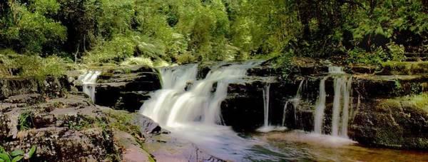 Photograph - Rocky Crossing Falls by David Rich