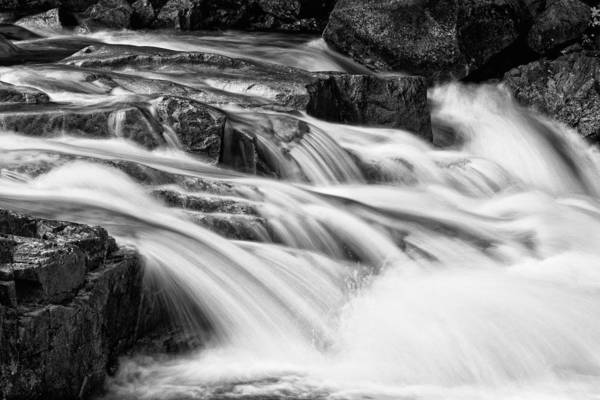 Photograph - Rocky Gorge Bnw  by Jeff Sinon