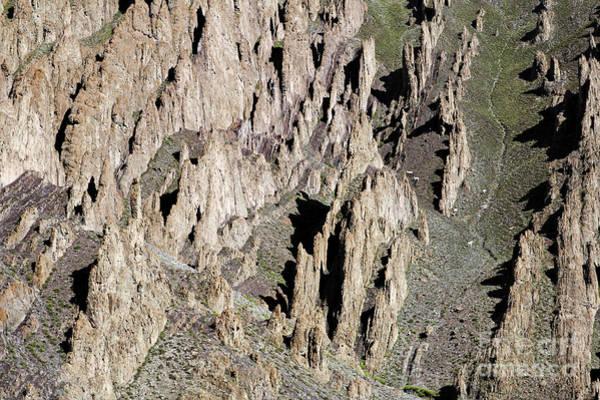 Northern India Photograph - Rocky Gorge In Ladakh by Robert Preston