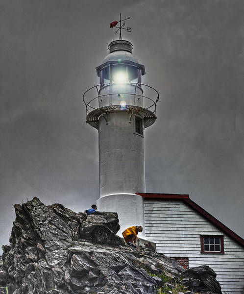 Gros Morne Photograph - Rocky Harbour Lighthouse by Robin Clarke