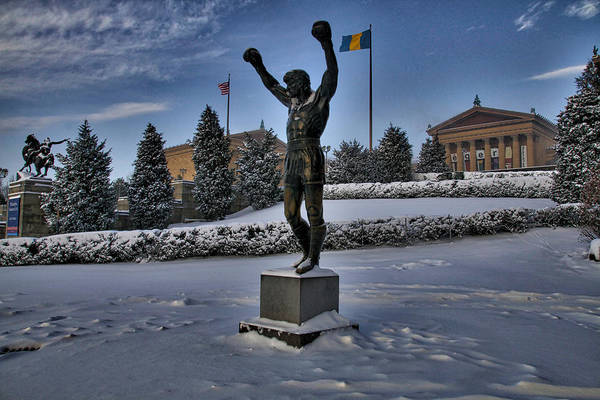Photograph - Rocky In The Snow by Alice Gipson