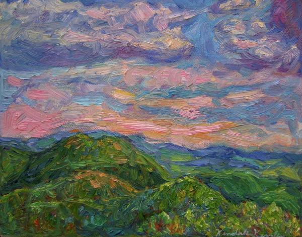 Painting - Rocky Knob Evening by Kendall Kessler