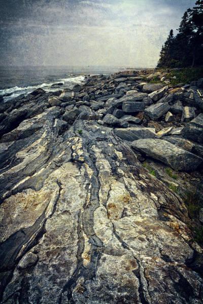 Photograph - Rocky Maine Coastline by Joan Carroll