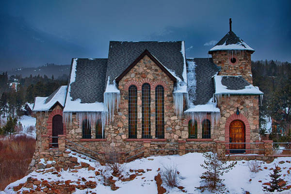 Photograph - Rocky Mountain Chruch by Darren  White