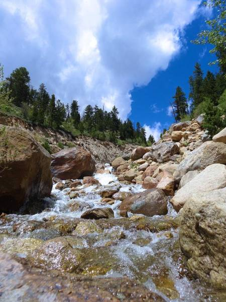 Photograph - Rocky Mountain Falls by Dan Sproul