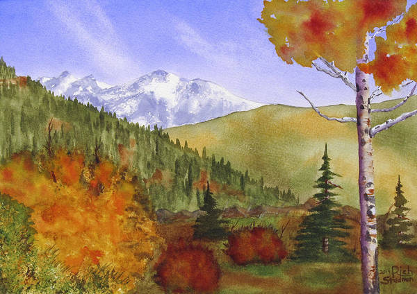 Painting - Rocky Mountain High by Rich Stedman