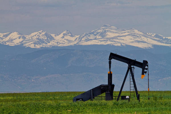 Photograph - Rocky Mountain Oil by James BO Insogna