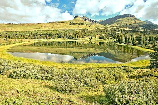 Photograph - Rocky Mountain Summer Reflections by Adam Jewell