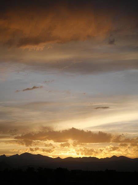 Photograph - Rocky Mountain Sunset 3 by Marilyn Hunt