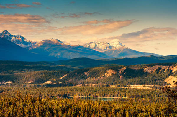 Photograph - Rocky Mountain by U Schade