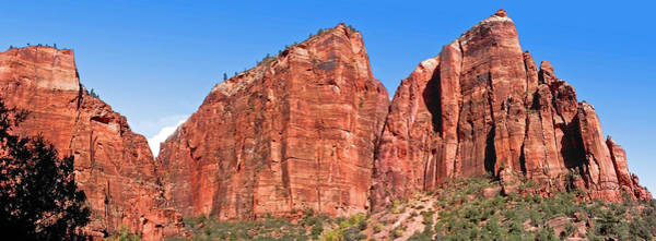 Photograph - Rocky Mountains Of Zion by Duane McCullough
