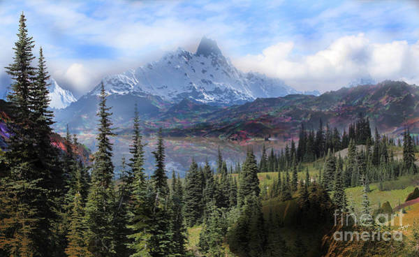 Wall Art - Photograph - Rocky Mountains Serenity. 02 by Heinz G Mielke