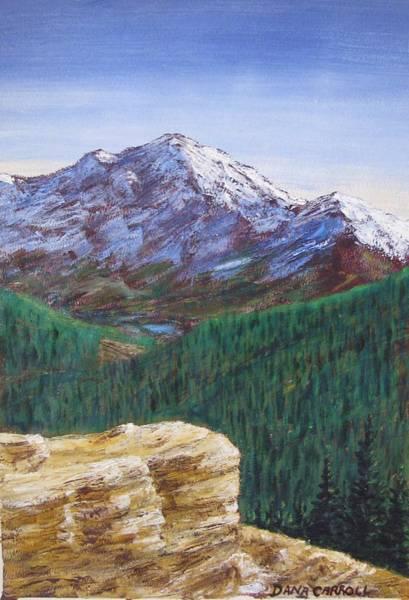 Wall Art - Painting - Rocky Mtn National Park by Dana Carroll