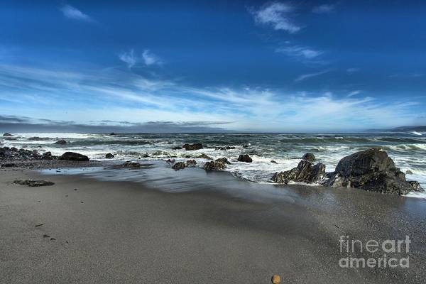 Photograph - Rocky Shore by Adam Jewell