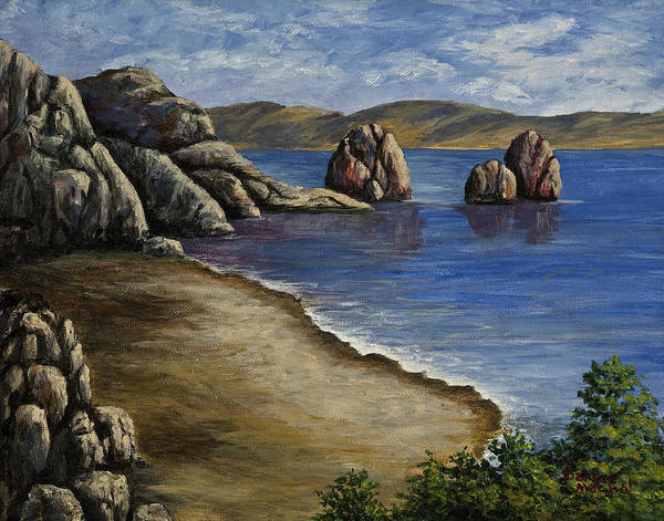 Painting - Rocky Shore by Darice Machel McGuire