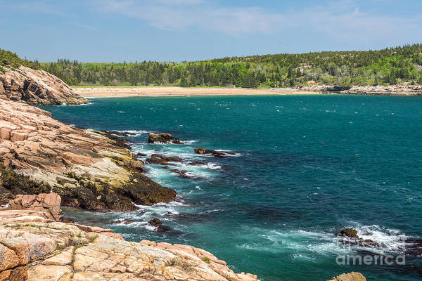 Photograph - Rocky Shore In Acadia 1 by Susan Cole Kelly