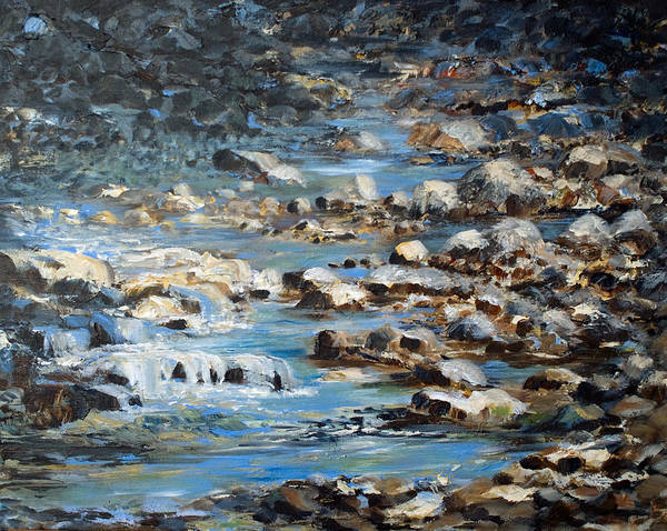 Painting - Rocky Shore by Joanne Smoley