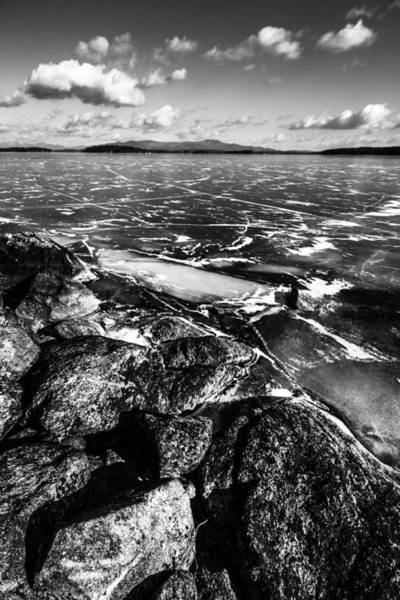 Photograph - Rocky Shore by Robert Clifford