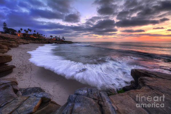 Photograph - Rocky Shoreline by Eddie Yerkish