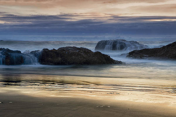 Wall Art - Photograph - Rocky Shores At Sunset by Andrew Soundarajan