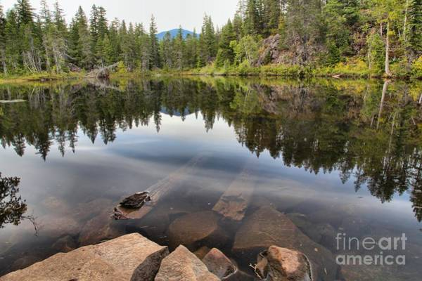 Photograph - Rocky Shores At Swim Lake by Adam Jewell