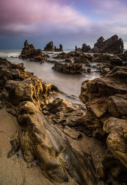 Del Photograph - Rocky Southern California Beach 5 by Larry Marshall