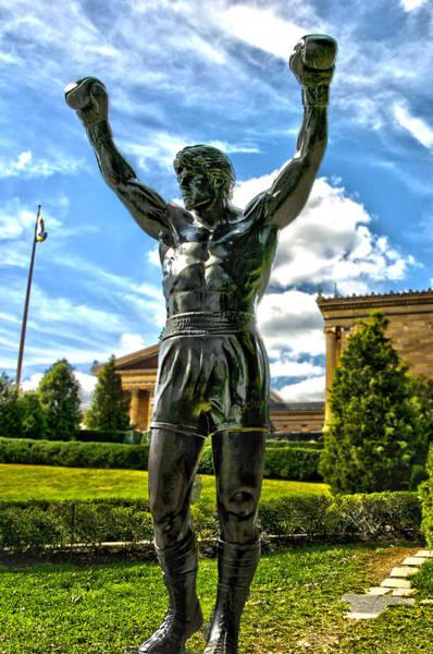 Rocky Statue Art Print by Frank Savarese