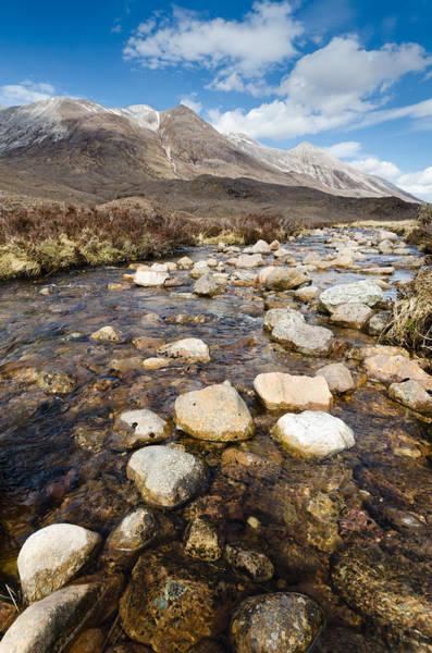 Beinn Eighe Photograph - Rocky Stream From Beinn Eighe by David Head