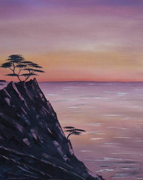 Painting - Rocky Sunset by Barbara St Jean