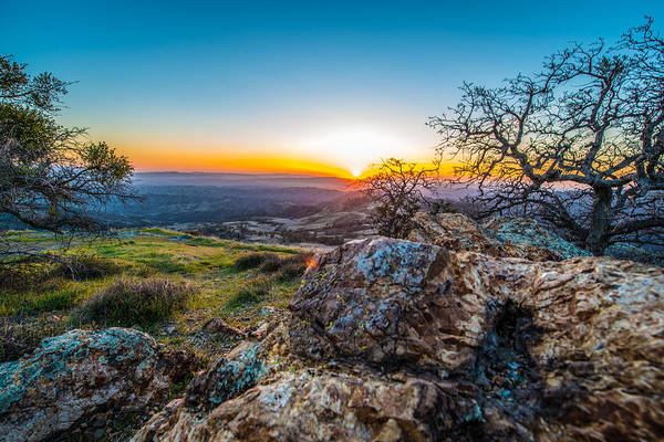 Photograph - Rocky Sunset by Paul Johnson
