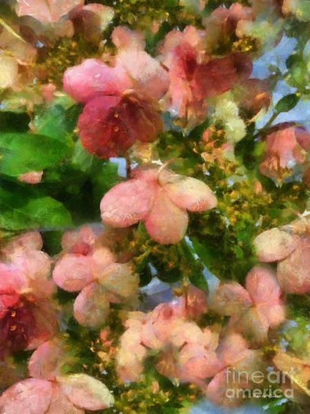 Painting - Rococo Blossoms by RC DeWinter