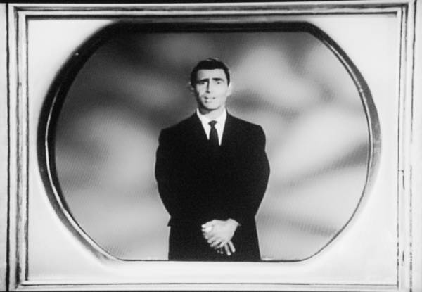 Wall Art - Photograph - Rod Serling On T V by Rob Hans
