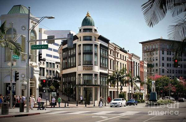 Lax Photograph - Rodeo Drive by David Gardener