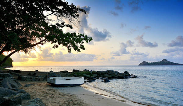 Saint Lucia Photograph - Rodney Bay Sunset - St. Lucia by Brendan Reals