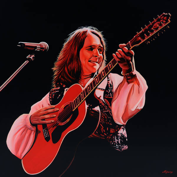 Wall Art - Painting - Roger Hodgson Of Supertramp by Paul Meijering