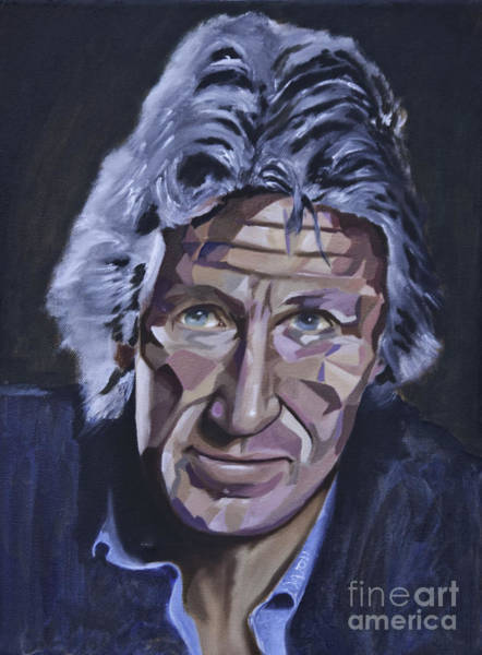 Painting - Roger Waters by James Lavott