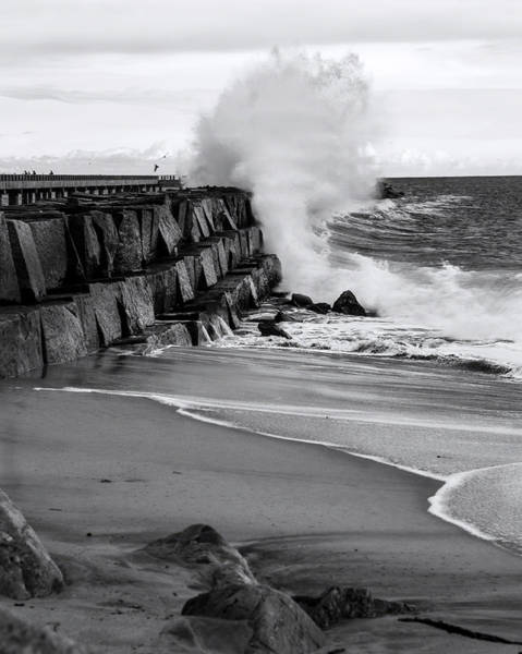 Rogue Bullet Wave Cabrillo Beach By Denise Dube Art Print
