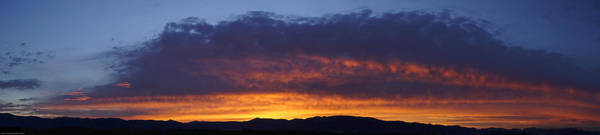 Rogue Valley Photograph - Rogue Valley Sunset Panoramic by Mick Anderson
