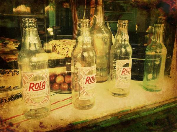 Photograph - Rola Cola by Richard Reeve