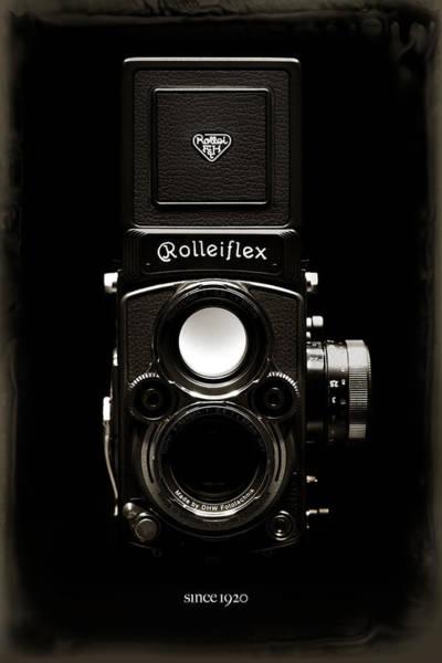 Fx Photograph - Rolleiflex Tlr by Dave Bowman