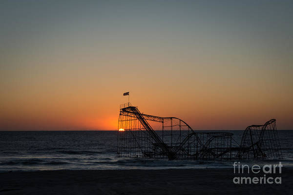 Nikon Wall Art - Photograph - Roller Coaster Sunrise 2 by Michael Ver Sprill