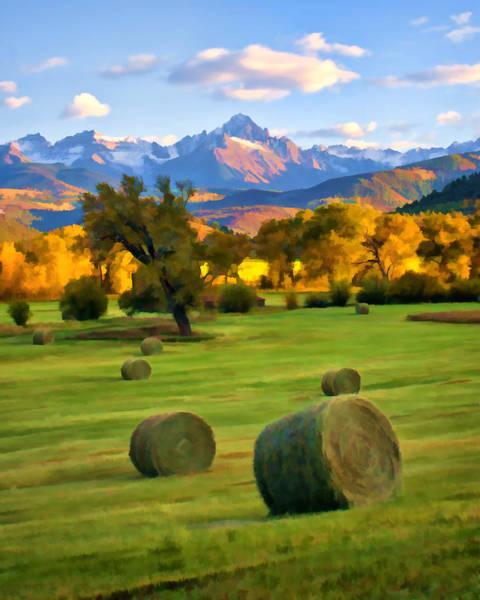 Digital Art - Rollin' In The Hay by Rick Wicker