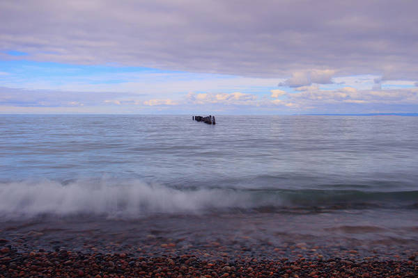 Photograph - Rollin On Whitefish Point by Rachel Cohen