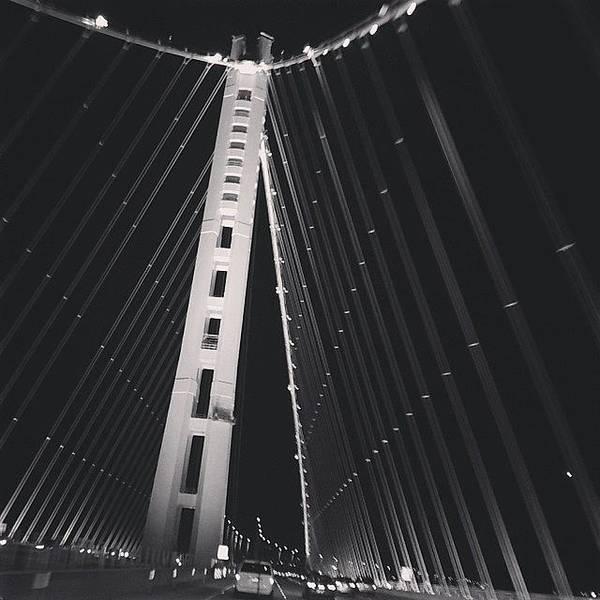 Sports Cars Photograph - Bay Bridge by Cesar Ochoa