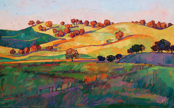 Wall Art - Painting - Rolling Deep by Erin Hanson
