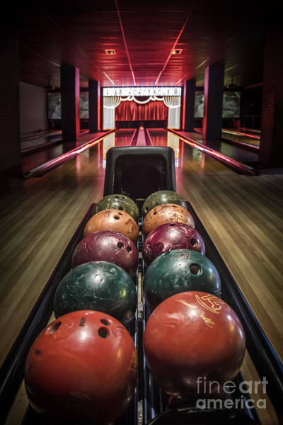 Bowling Ball Wall Art - Photograph - Rolling Joy by Evelina Kremsdorf
