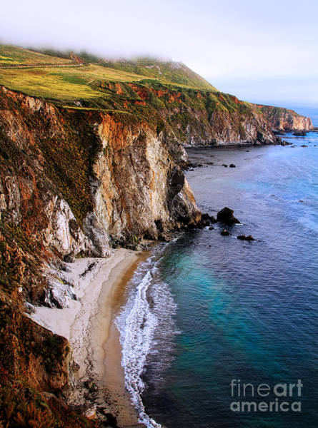 Photograph - Rolling Over Big Sur By Diana Sainz by Diana Raquel Sainz